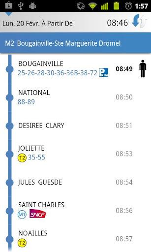 [SOFT] MARSEILLE TRANSPORT : Les horaires des transport en commun de la ville de Marseille dans votre androphone [Gratuit/Payant] B17