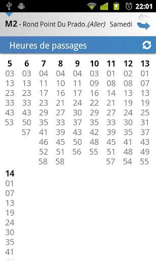 [SOFT] MARSEILLE TRANSPORT : Les horaires des transport en commun de la ville de Marseille dans votre androphone [Gratuit/Payant] C16