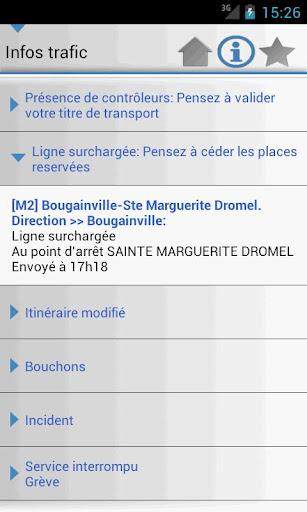 [SOFT] MARSEILLE TRANSPORT : Les horaires des transport en commun de la ville de Marseille dans votre androphone [Gratuit/Payant] K10