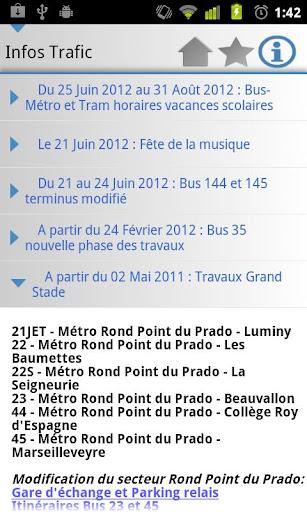 [SOFT] MARSEILLE TRANSPORT : Les horaires des transport en commun de la ville de Marseille dans votre androphone [Gratuit/Payant] Unname18