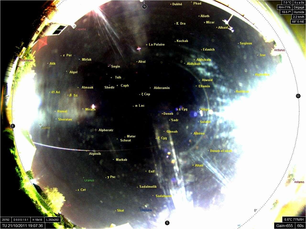 Dossier sur le bolide du 21/10/2011 - Page 2 Durtal10