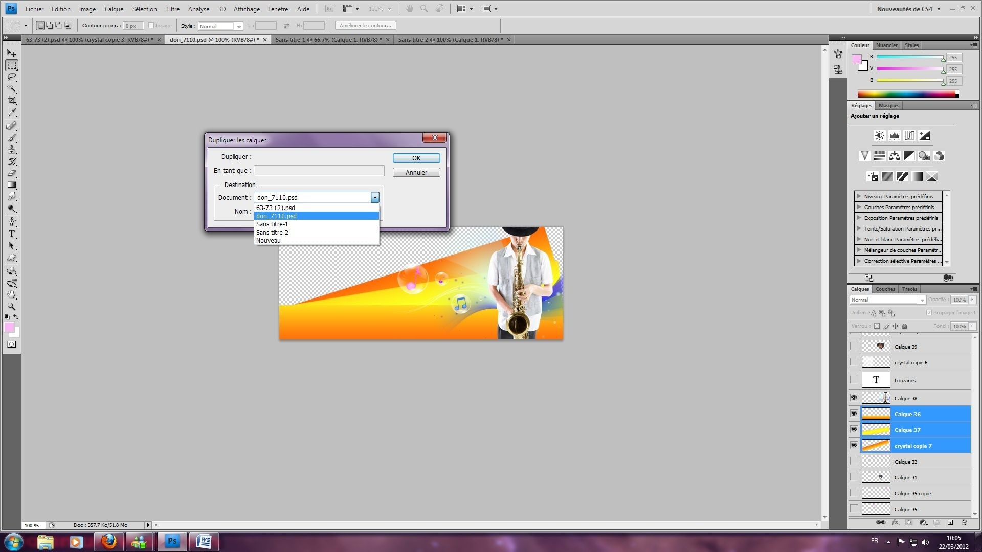 [Photoshop] - Se servir de divers outils  pour créer un kit- Débutant 1110