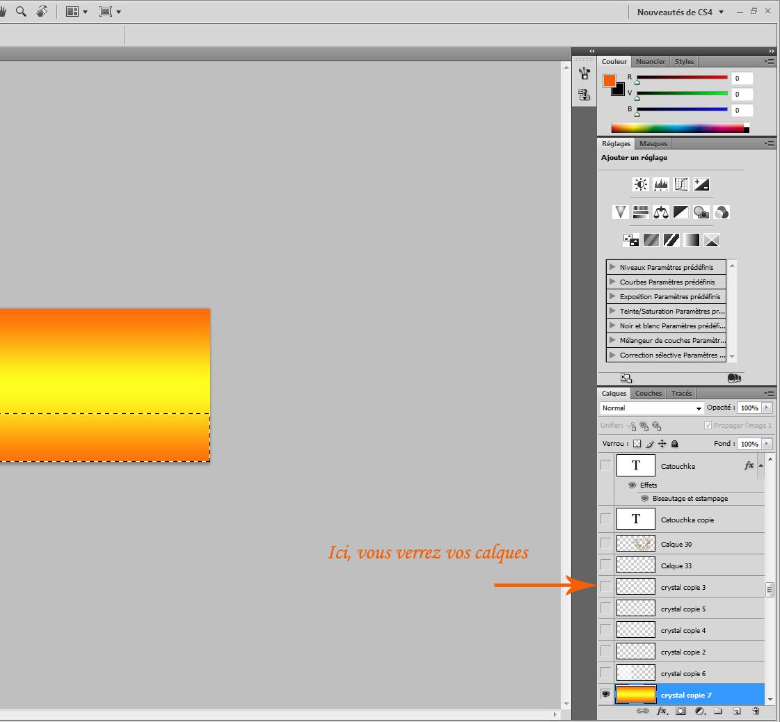 [Photoshop] - Se servir de divers outils  pour créer un kit- Débutant 510