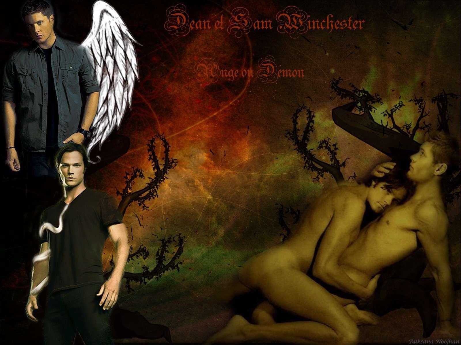 Supernatural  - Dean Sam Castiel - G Sam110
