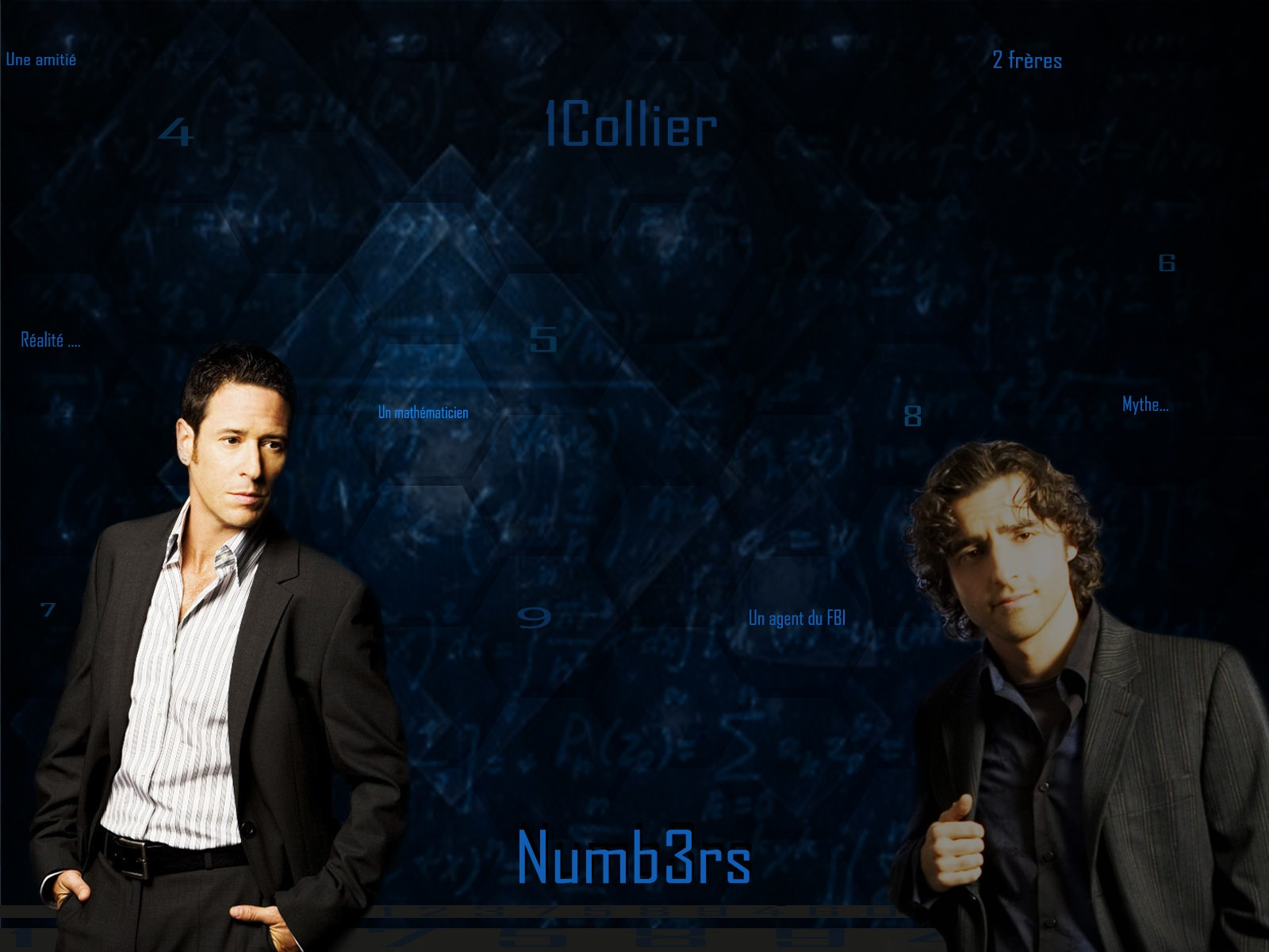 [Numb3rs] : Des maths, un agent et un consultant  -Don/???-G- Wallpa10
