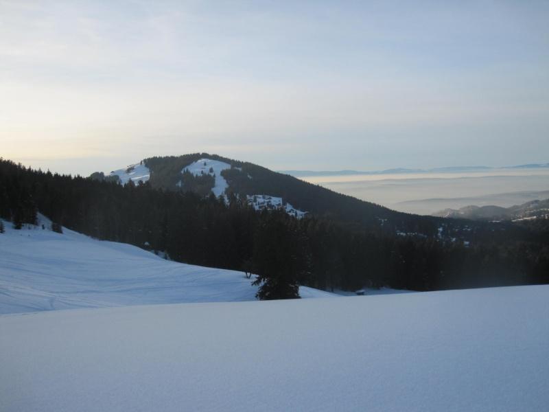 Saskia dans la neige givrée 132