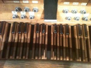 Les orgues sur lesquels je travaille Pedali13