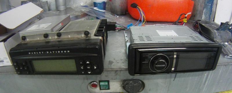 Remplacement  radio d'origine par autoradio classique Gopr0211