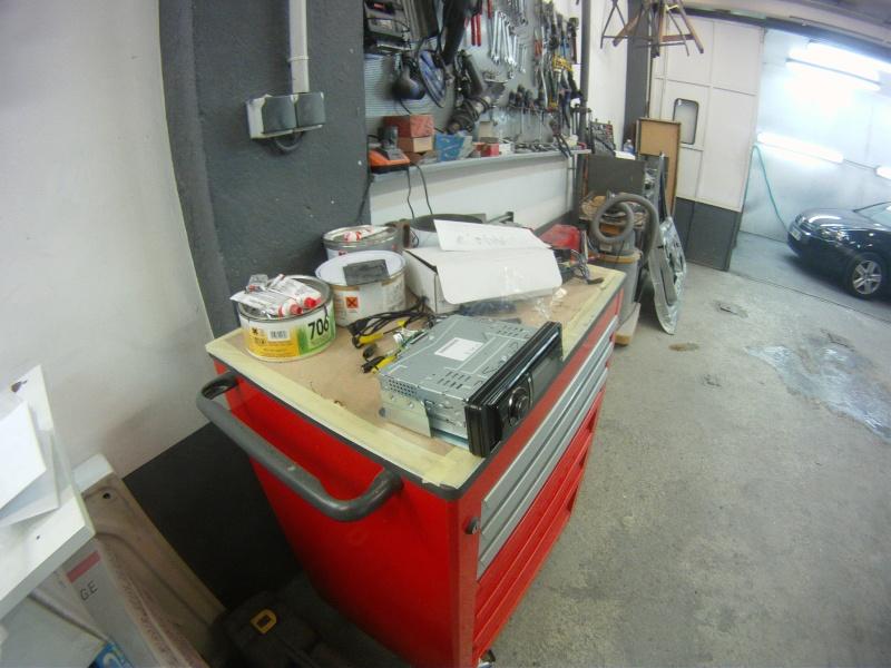 Remplacement  radio d'origine par autoradio classique Gopr0216