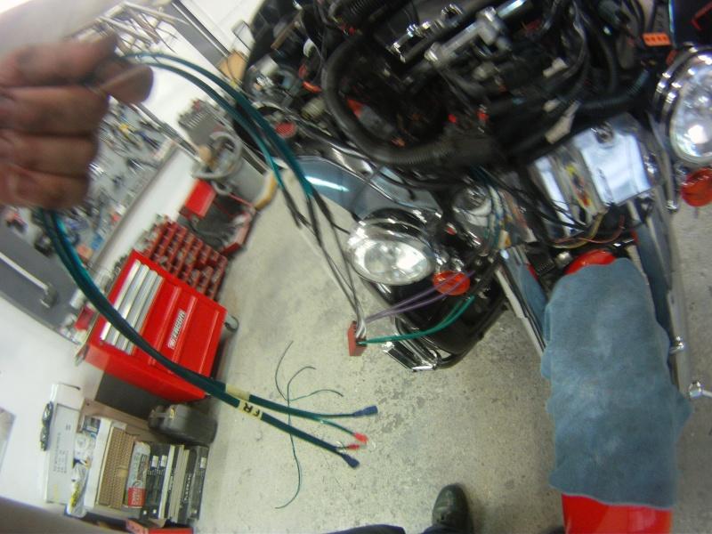Remplacement  radio d'origine par autoradio classique Gopr0231