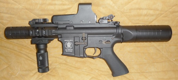 modification cablage et crosse m4 cqb  Aps_pa10