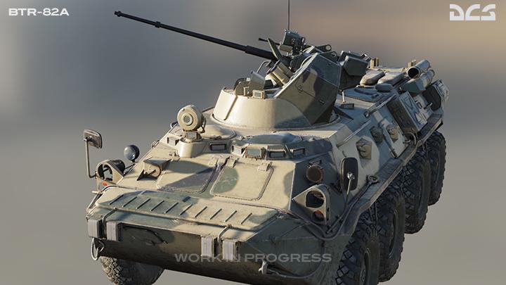 Mise à jour du BTR-80 : le BTR-82A bientôt sur DCS ! 12959010