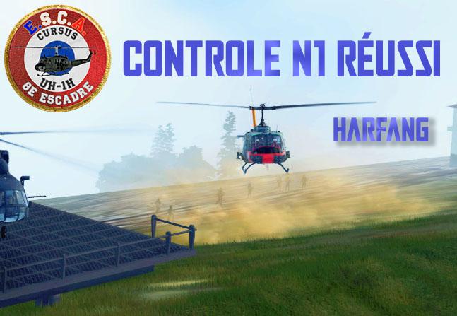[Cursus UH-1H] Harfang qualifié N1 ! Contro13