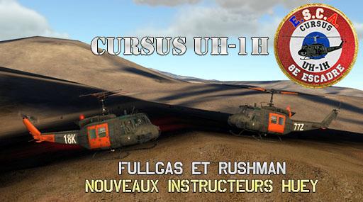 Deux nouveaux instructeurs Huey ! Cursus10