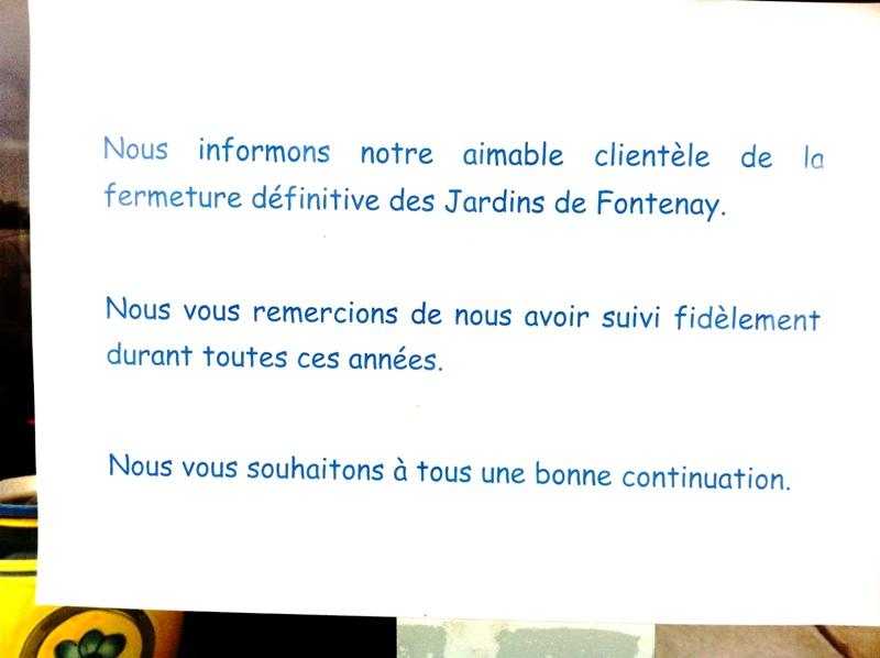 Fermeture définitive du fleuriste Carrefour du 8 Mai Fermet10