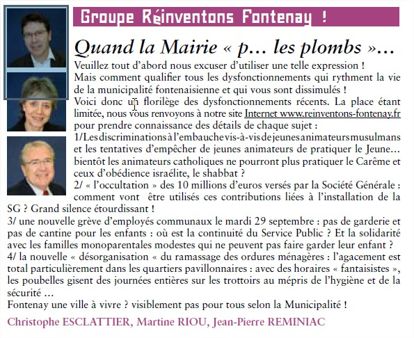 Groupe Réinventons Fontenay (Opposition) - Page 13 Groupe10