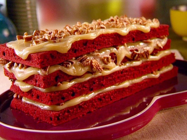 Red Velvet Sponge Cake Recipe 12577310