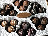 Chocolate Truffles with Orange Liqueur 12578010
