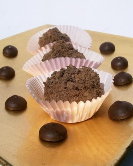 Chocolate Truffles with Orange Liqueur 12578210