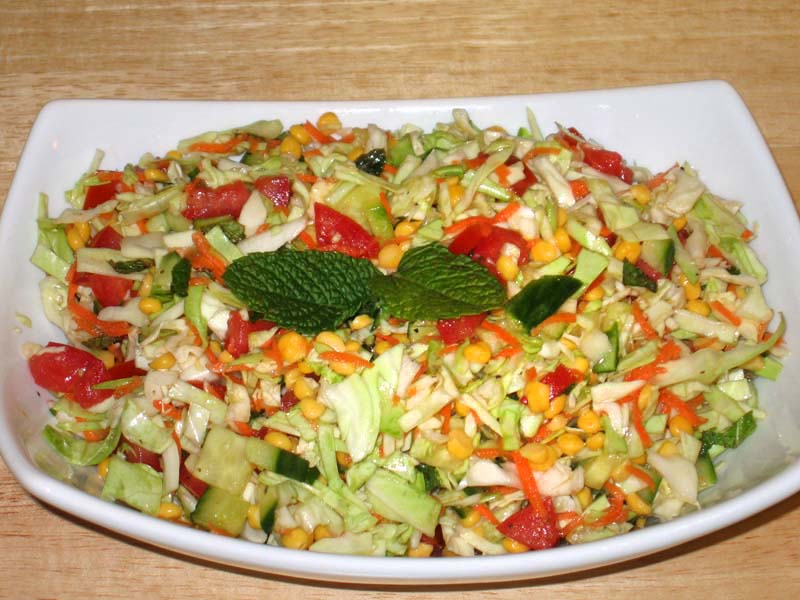 Cabbage Chana Dal Salad 12825510