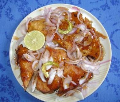 Bread Pakora Chat 13230810