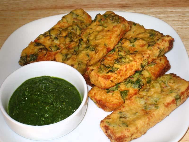 Bread Pakora Chat 13230910