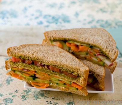 "Light Lunch""""Vegetable Sandwich"""" 14683010"