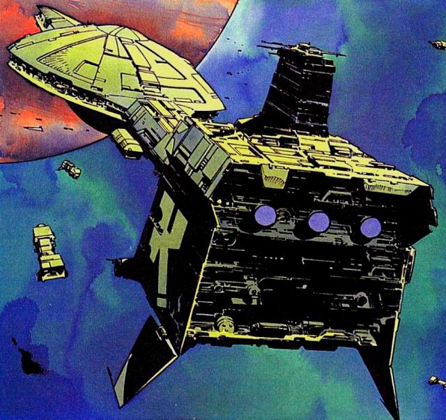 Les Vaisseaux Du 3e Empire Galactique Sans_300