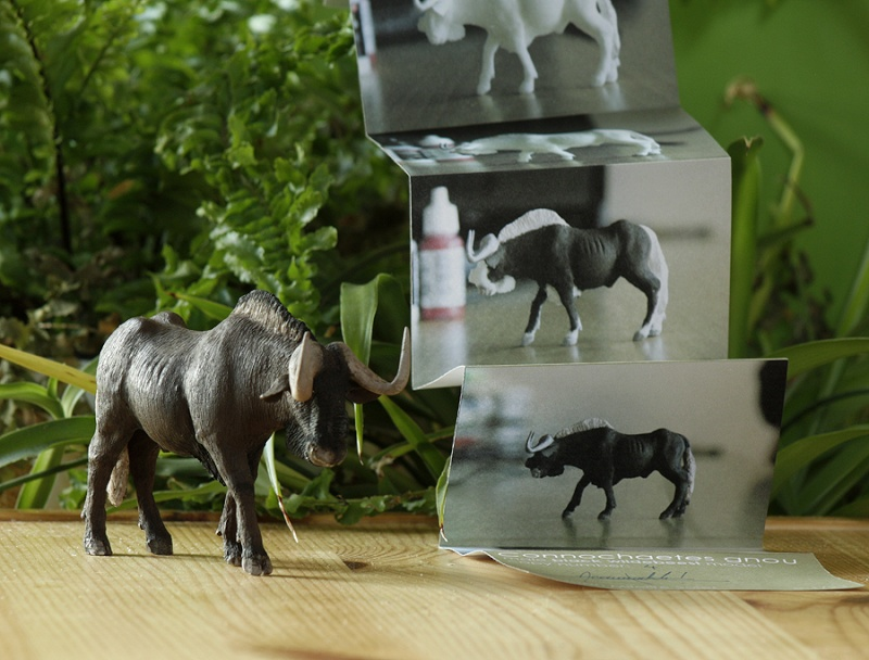 ...and me the black wildebeest from Joan! Gnu110