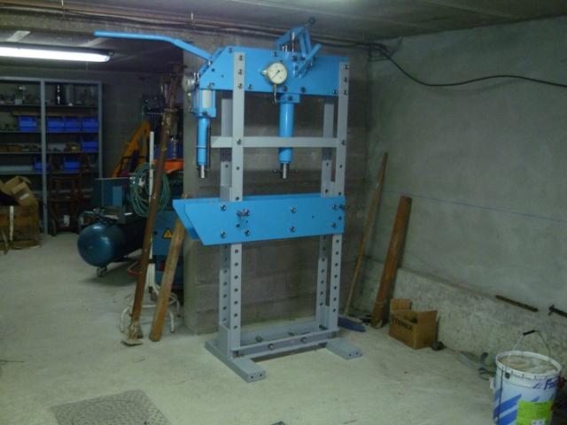 Presse hydraulique FOG P1010010