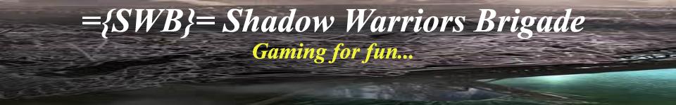 Shadow Warriors Brigade Forums