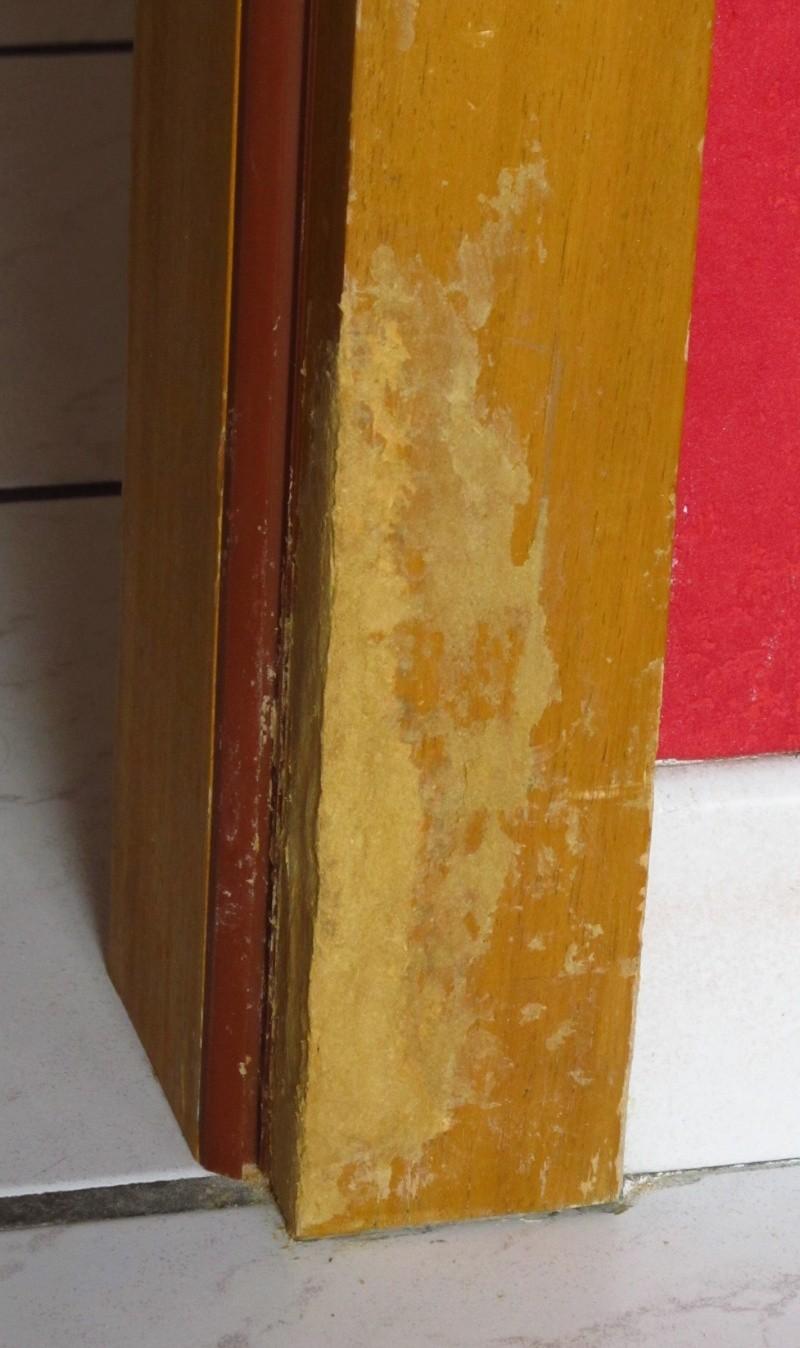 R paration d 39 un encadrement de porte en bois page 2 - Reparation de porte en bois ...