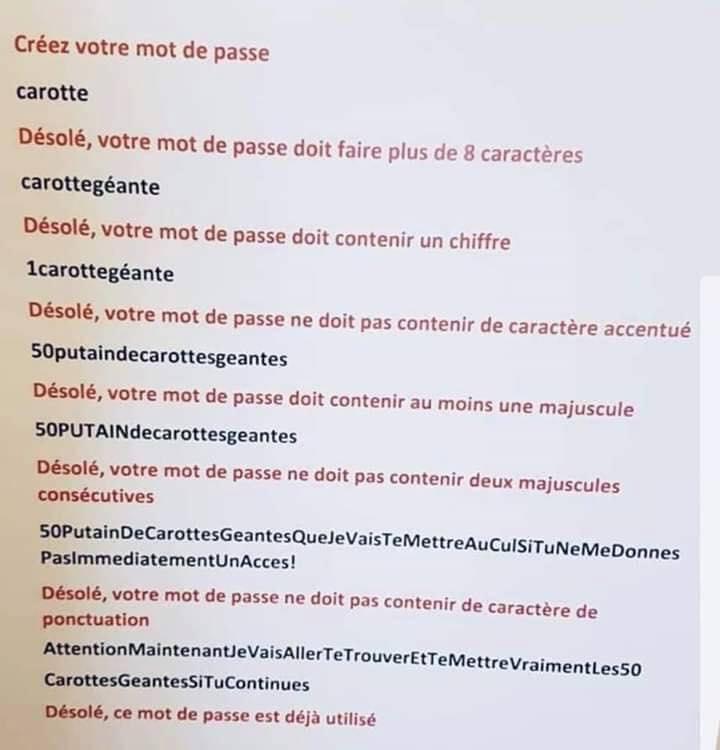 Mots de passe Telepac 71289211