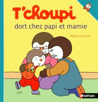 T'CHOUPI DORT CHEZ PAPI ET MAMIE de Thierry Courtin 97820939