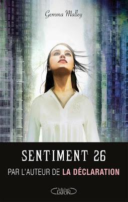 SENTIMENT 26 (Tome 1) de Gemma Malley Sentim10