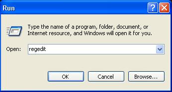 不用任何软件或下载就能转换你的 Windows Service Pack (Windows XP) Regedi10