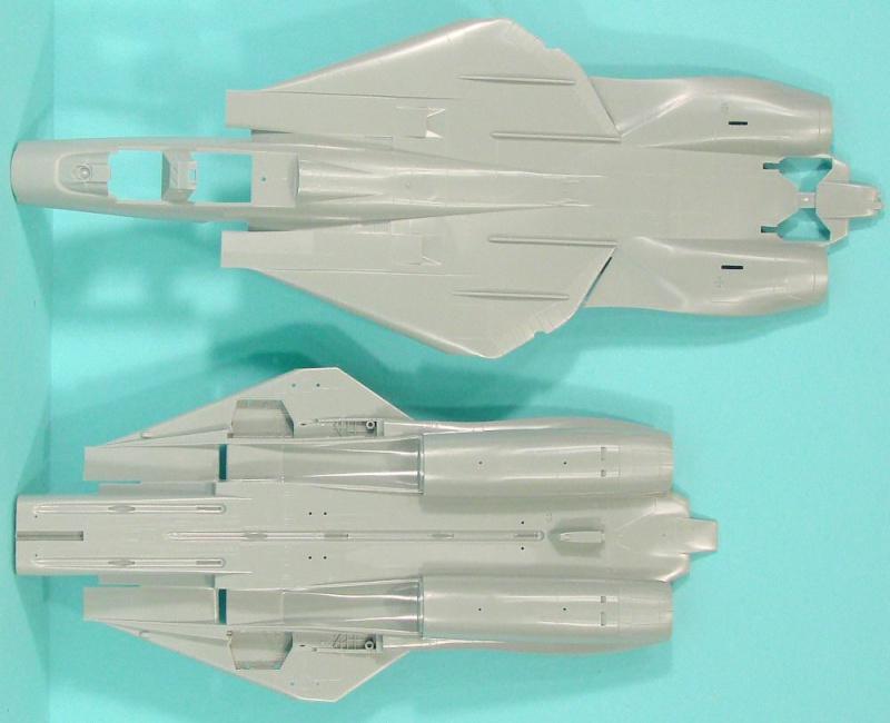 montage F-14 A Academy et hasegawa Aca_f-12