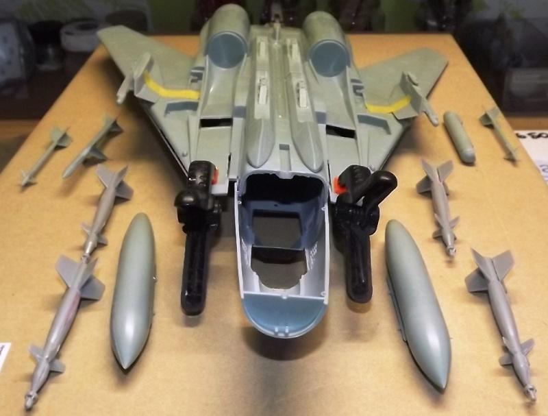 montage F-14 A Academy et hasegawa Dscf4415