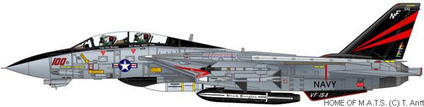montage F-14 A Academy et hasegawa F14-sq10