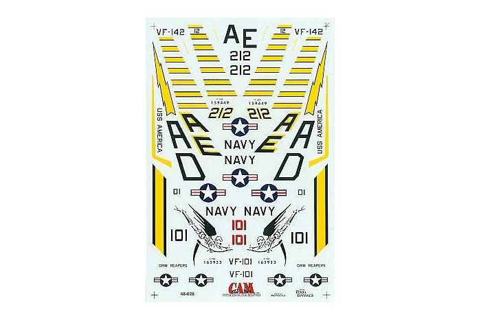 montage F-14 A Academy et hasegawa Grumma12