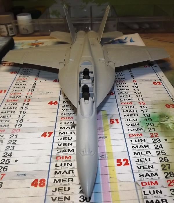 montage F-18 super hornet italeri Hornet10