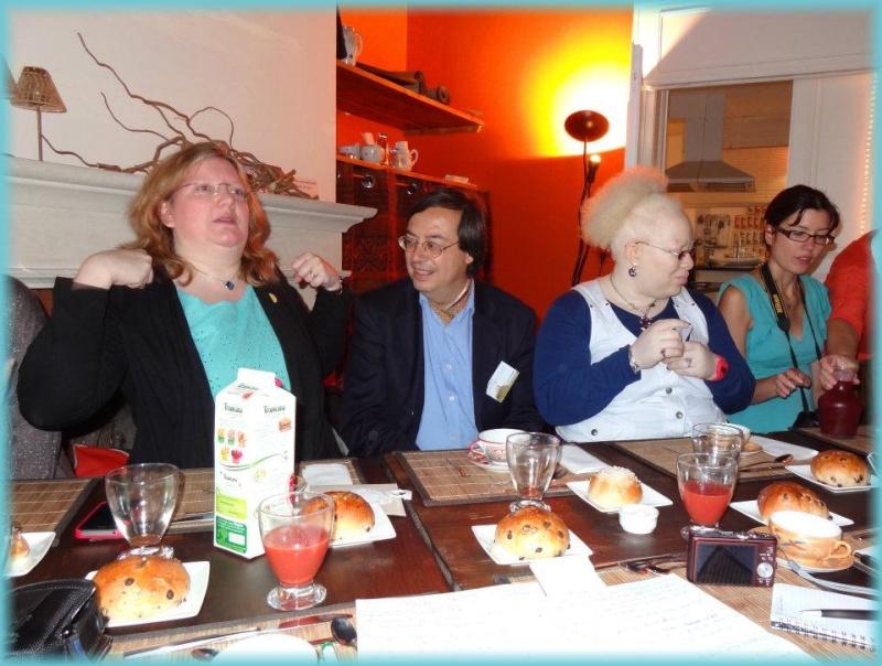 Rencontres magiques avec MaryJanice Davidson aux Imaginales 2012 Anita11