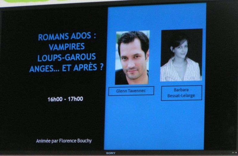 Conférence SDL 2012 - Romans Ados : Vampires, Loups Garous, Ange… et après ? Conf_111
