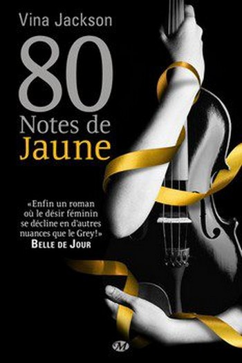 JACKSON Vina - EIGHTY DAYS - Tome 1 : 80 notes de jaune Couv_e10