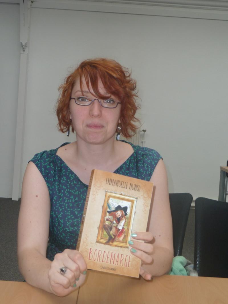 Rencontre avec Emmanuelle NUNCQ - 4 avril 2012 P1040710