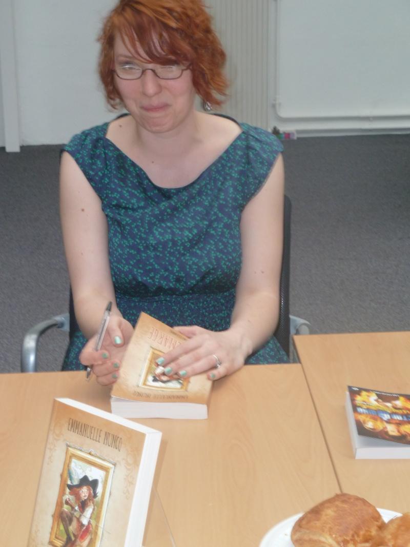 Rencontre avec Emmanuelle NUNCQ - 4 avril 2012 P1040712