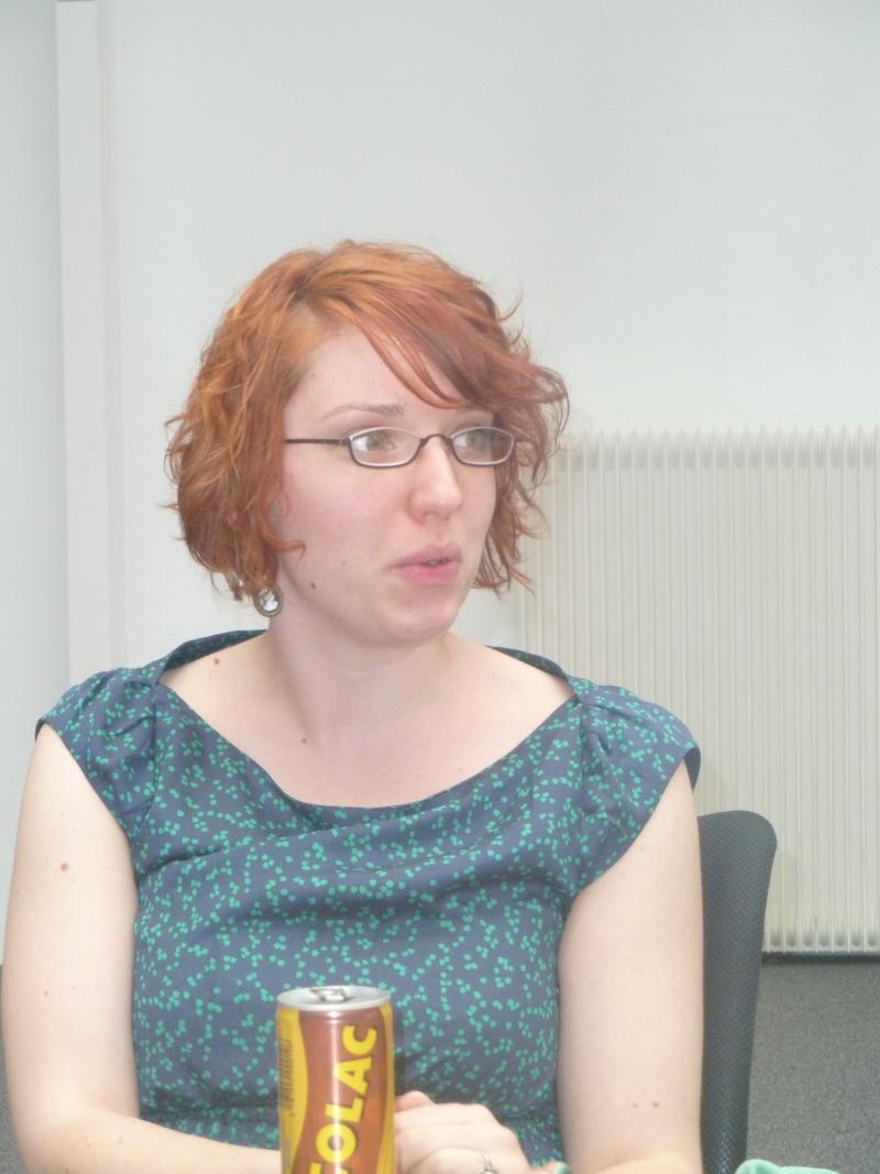Rencontre avec Emmanuelle NUNCQ - 4 avril 2012 P1040713
