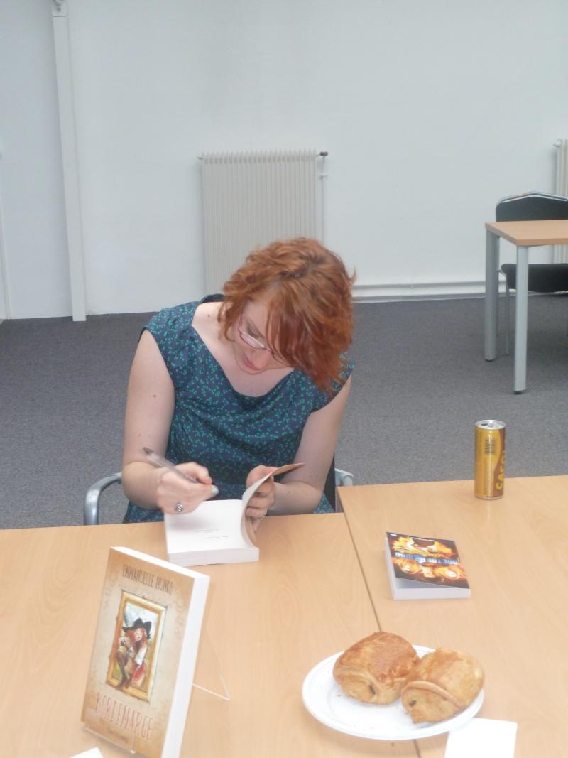 Rencontre avec Emmanuelle NUNCQ - 4 avril 2012 P1040714