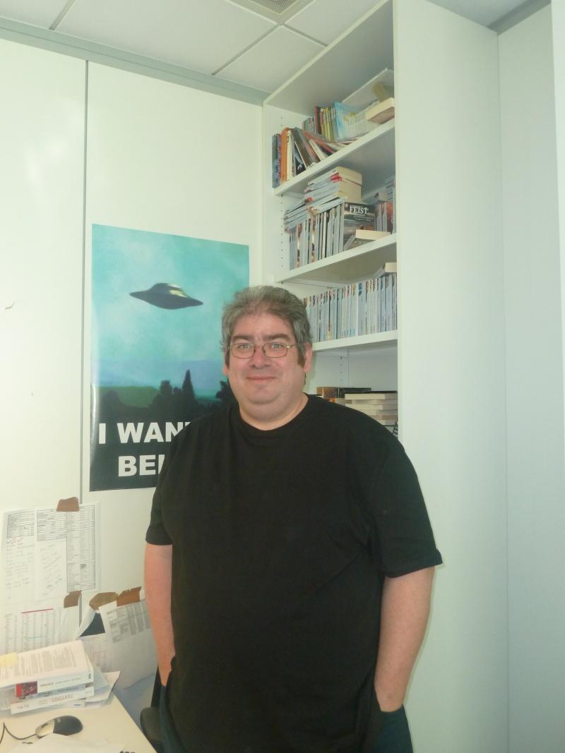Rencontre avec Ben AARONOVITCH 12 avril 2012 P1040811