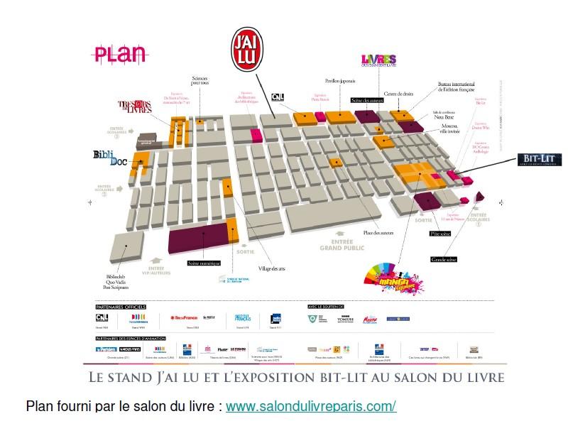 La Bit Lit à l'honneur au Salon du Livre 2012  Plan_s10